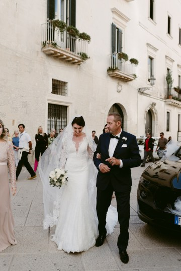 Luxurious Italian Cathedral Wedding On The Seaside | Serena Cevenini 28