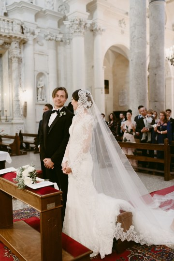 Luxurious Italian Cathedral Wedding On The Seaside | Serena Cevenini 31