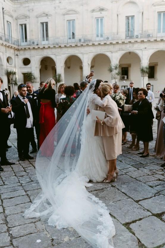 Luxurious Italian Cathedral Wedding On The Seaside | Serena Cevenini 39