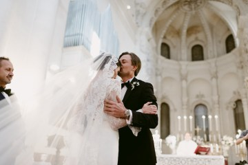 Luxurious Italian Cathedral Wedding On The Seaside | Serena Cevenini 5