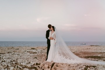 Luxurious Italian Cathedral Wedding On The Seaside | Serena Cevenini 8