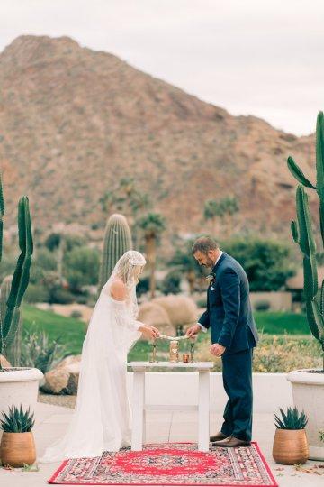 Midcentury Modern Desert Wedding Made Of Boho Dreams | Vienna Glenn 14