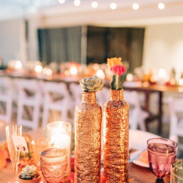Midcentury Modern Desert Wedding Made Of Boho Dreams | Vienna Glenn 29