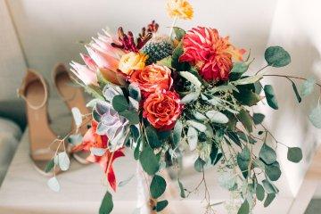 Midcentury Modern Desert Wedding Made Of Boho Dreams | Vienna Glenn 36