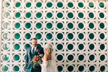 Midcentury Modern Desert Wedding Made Of Boho Dreams | Vienna Glenn 52