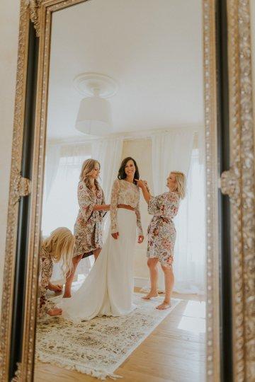 Monstera Leaves & Artichokes; A Hip Slovenian Wedding   Karen Willis Holmes Bridal   Aljosa Videtic 19