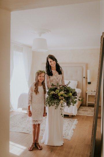 Monstera Leaves & Artichokes; A Hip Slovenian Wedding   Karen Willis Holmes Bridal   Aljosa Videtic 22