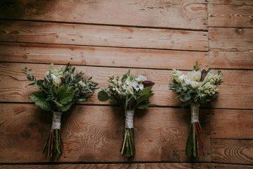 Monstera Leaves & Artichokes; A Hip Slovenian Wedding   Karen Willis Holmes Bridal   Aljosa Videtic 3