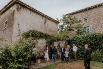 Monstera Leaves & Artichokes; A Hip Slovenian Wedding   Karen Willis Holmes Bridal   Aljosa Videtic 6