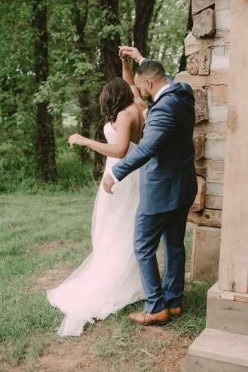 Pretty Pink Countryside Wedding (With Cute Aisle Signage) | Barkerture Photo 22