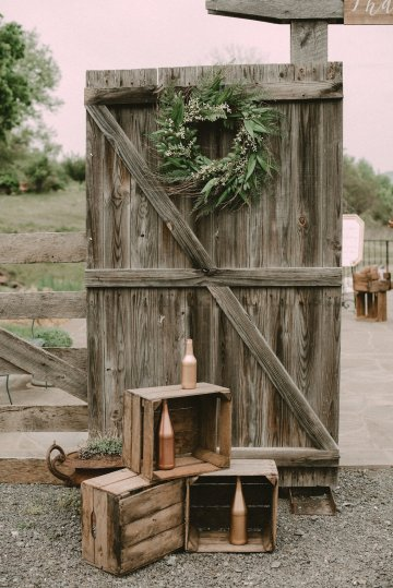 Pretty Pink Countryside Wedding (With Cute Aisle Signage) | Barkerture Photo 23