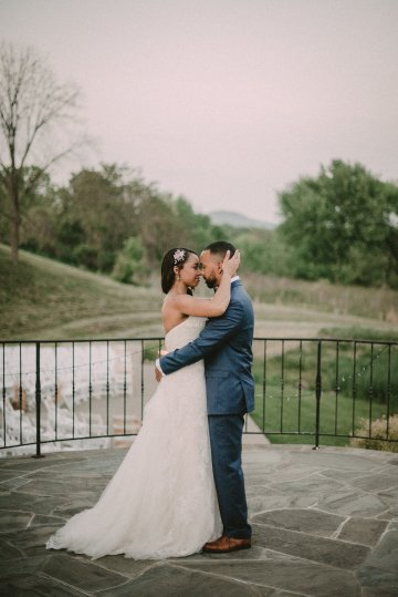 Pretty Pink Countryside Wedding (With Cute Aisle Signage) | Barkerture Photo 46