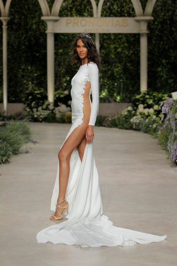 Pronovias 2019 In Bloom Wedding Dress Collection | Camilla