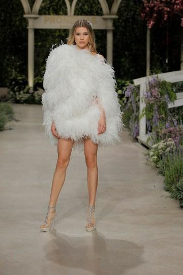 Pronovias 2019 In Bloom Wedding Dress Collection | Capri