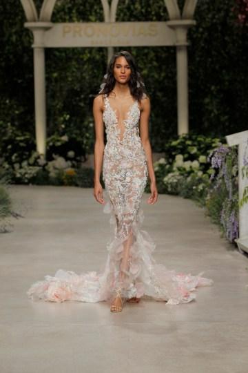 Pronovias 2019 In Bloom Wedding Dress Collection | Carolina