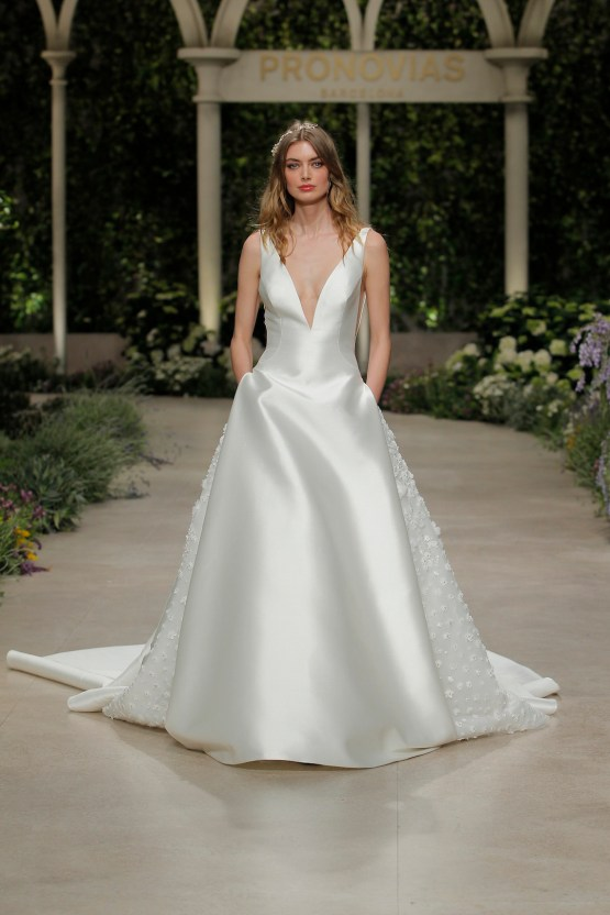 Pronovias 2019 In Bloom Wedding Dress Collection | Castel