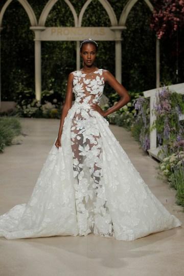 Pronovias 2019 In Bloom Wedding Dress Collection | Catia