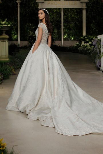Pronovias 2019 In Bloom Wedding Dress Collection | Celeste 2