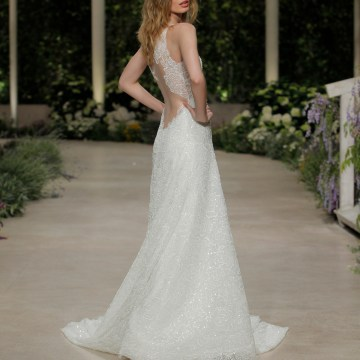 Pronovias 2019 In Bloom Wedding Dress Collection | Claire