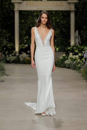 Pronovias 2019 In Bloom Wedding Dress Collection | Claudine
