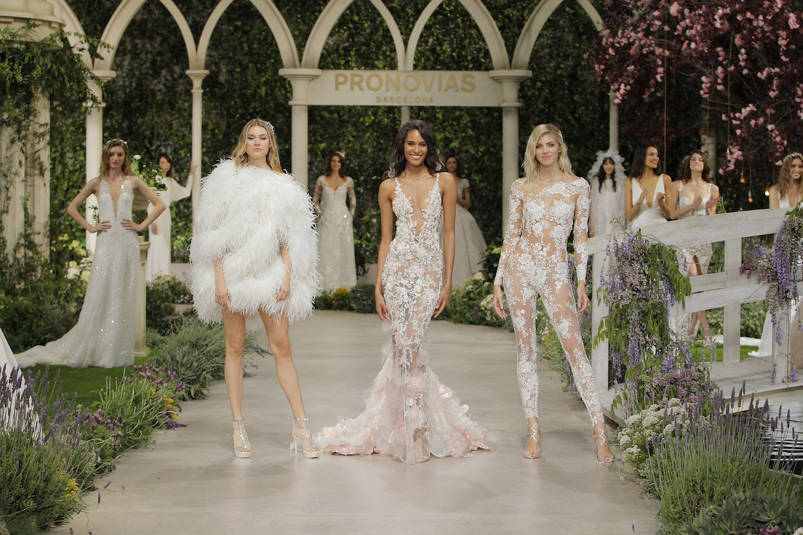 Pronovias 2019 In Bloom Wedding Dress Collection | Final 4