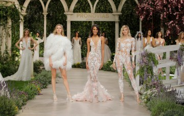 Strong & Sexy Wedding Dresses From Pronovias 2019 In Bloom Collection