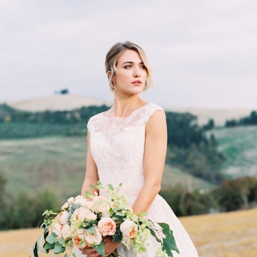 Romantic Italian Countryside Wedding Inspiration | Adrian Wood Photography 50