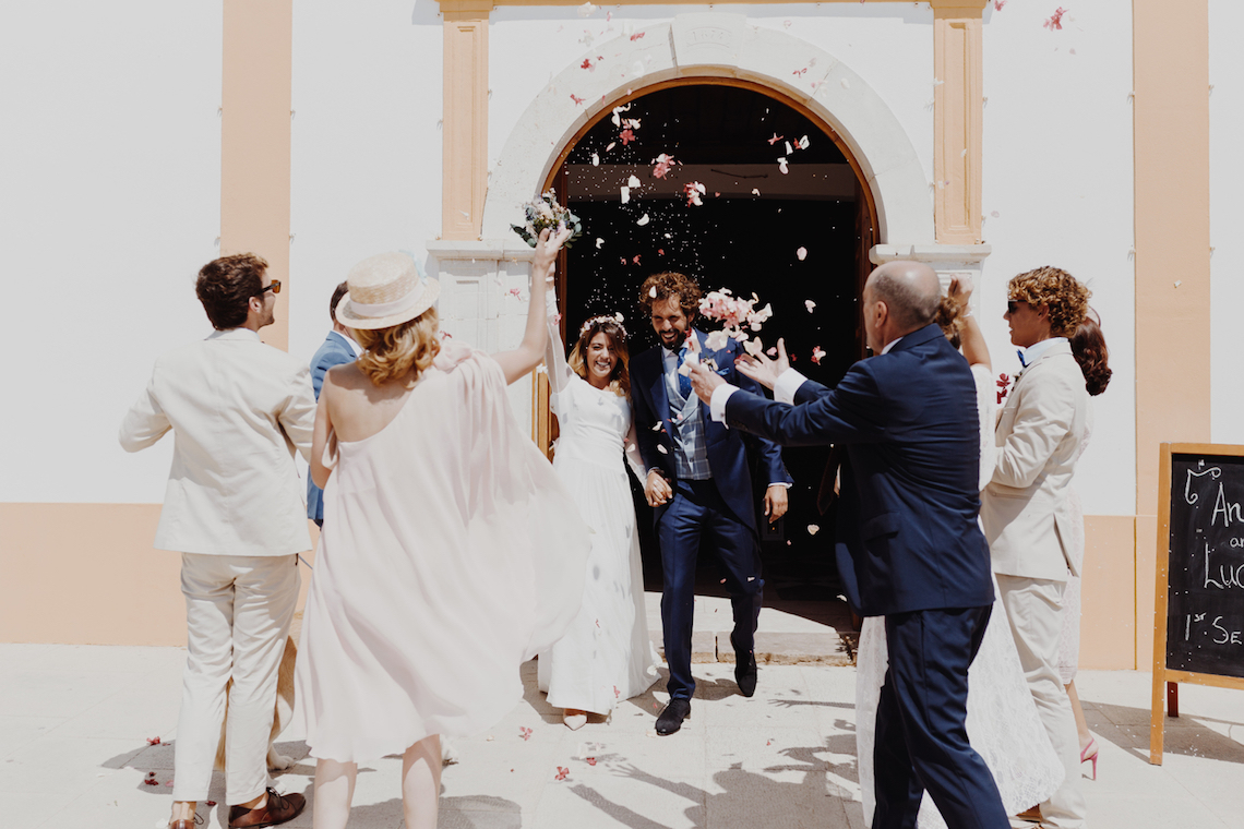 9 Guests 2 Dogs on a Beach in Portugal – A Wedding Film   Vanessa & Ivo 11
