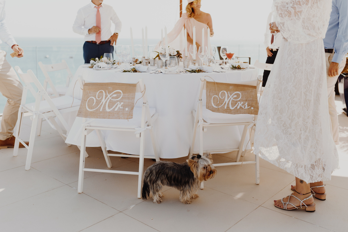 9 Guests 2 Dogs on a Beach in Portugal – A Wedding Film | Vanessa & Ivo 20