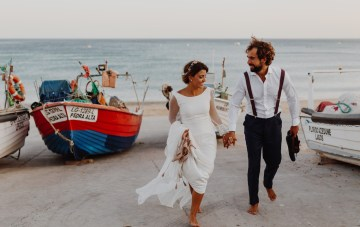 9 Guests, 2 Dogs, On A Beach In Portugal: A Joyous Wedding Film