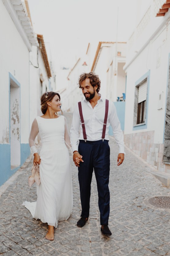 9 Guests 2 Dogs on a Beach in Portugal – A Wedding Film   Vanessa & Ivo 36