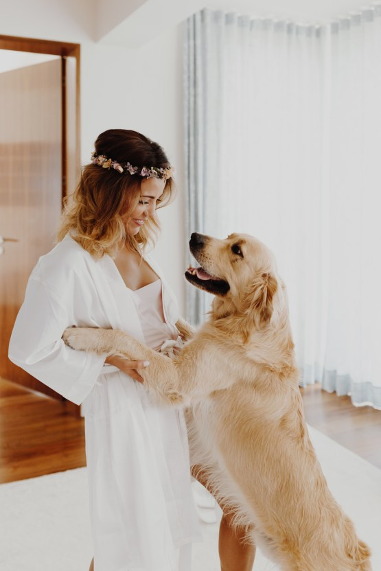 9 Guests 2 Dogs on a Beach in Portugal – A Wedding Film   Vanessa & Ivo 4
