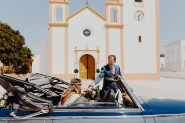 9 Guests 2 Dogs on a Beach in Portugal – A Wedding Film | Vanessa & Ivo 6