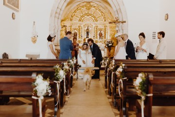 9 Guests 2 Dogs on a Beach in Portugal – A Wedding Film | Vanessa & Ivo 8