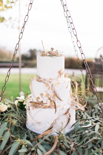 Earthy Organic Seaside Wedding Inspiration (& A Nude Wedding Dress) | George Liopetas 23