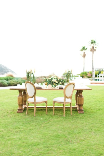 Earthy Organic Seaside Wedding Inspiration (& A Nude Wedding Dress) | George Liopetas 28
