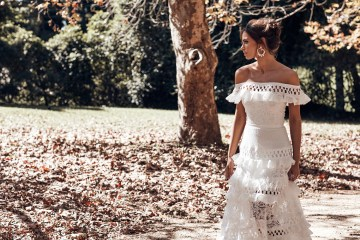 Free-Spirited Bohemian Icon Wedding Dress Collection by Graces Loves Lace | Coco 10