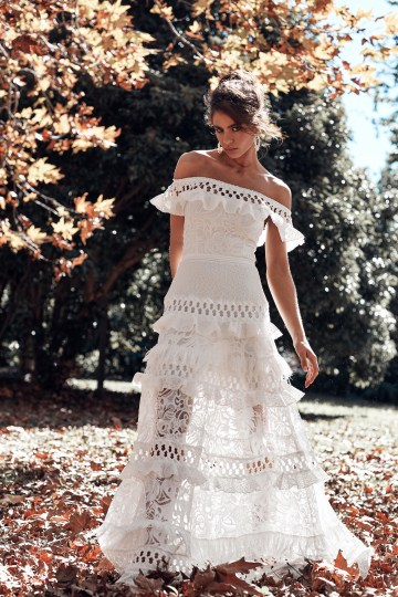Free-Spirited Bohemian Icon Wedding Dress Collection by Graces Loves Lace | Coco 5