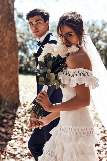 Free-Spirited Bohemian Icon Wedding Dress Collection by Graces Loves Lace | Coco 7