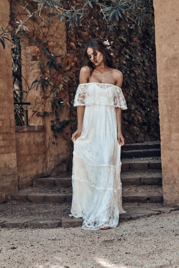 Free-Spirited Bohemian Icon Wedding Dress Collection by Graces Loves Lace | Franca 3