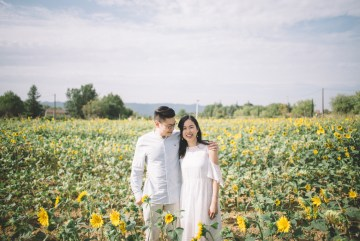 French Sunflower Wedding Inspiration | Teri B Photography 8