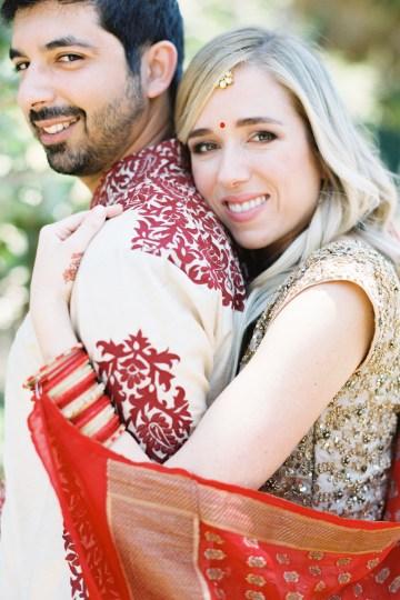 Hindu American Fusion Wedding (With Peonies) | Bramble and Vine 14