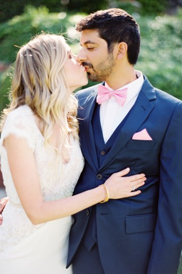 Hindu American Fusion Wedding (With Peonies) | Bramble and Vine 33