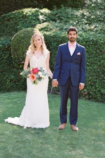 Hindu American Fusion Wedding (With Peonies) | Bramble and Vine 34