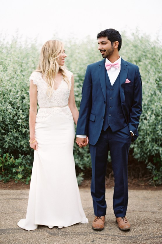 Hindu American Fusion Wedding (With Peonies) | Bramble and Vine 44