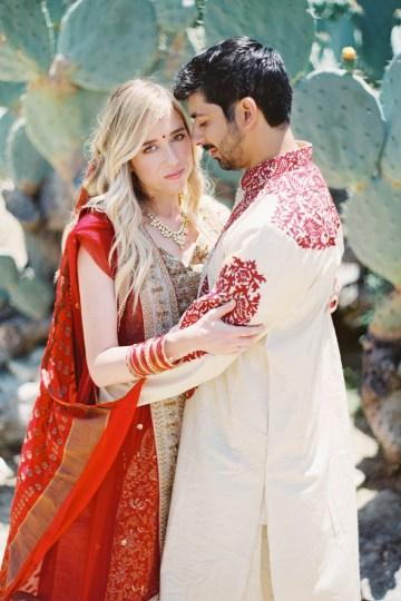 Hindu American Fusion Wedding (With Peonies) | Bramble and Vine 9