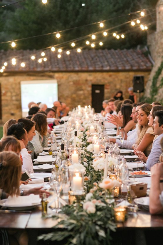 Intimate Al Fresco Wedding In A Tuscan Vineyard | Roberta Facchini