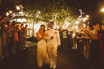 Nautical Military Wedding | Susie & Becky 26