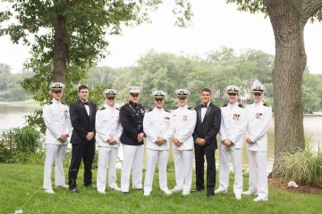 Nautical Military Wedding | Susie & Becky 4