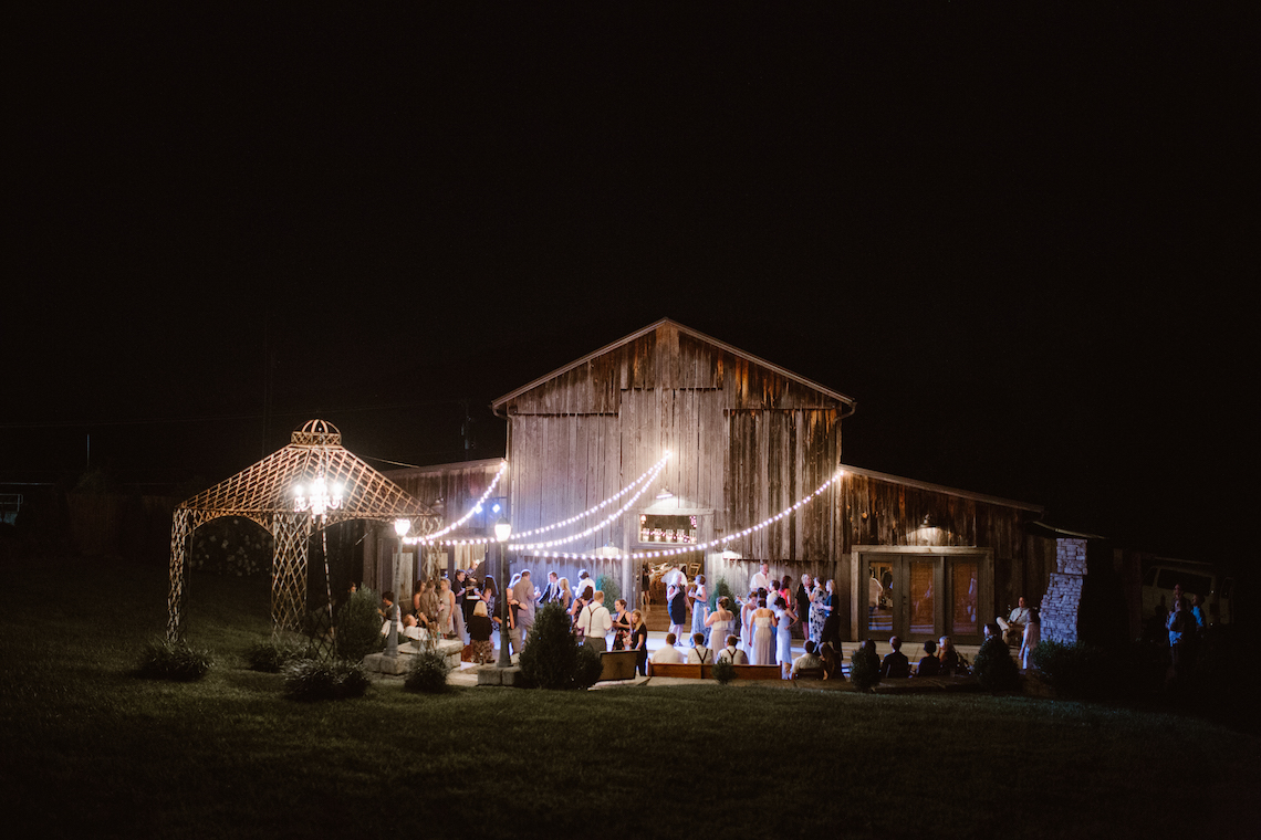 Rustic Rock & Roll Barn Wedding | Erin Morrison Photography